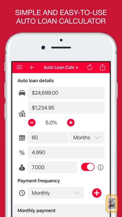 Screenshot - Auto Loan Calculator +