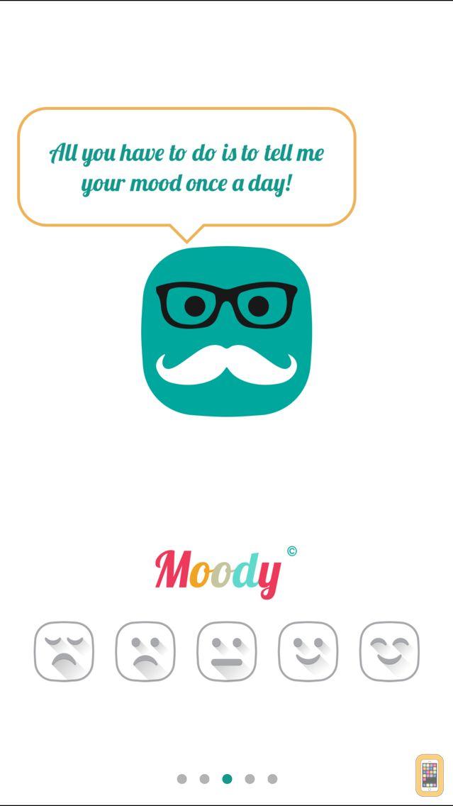 Screenshot - Moody - Daily Mood Tracker