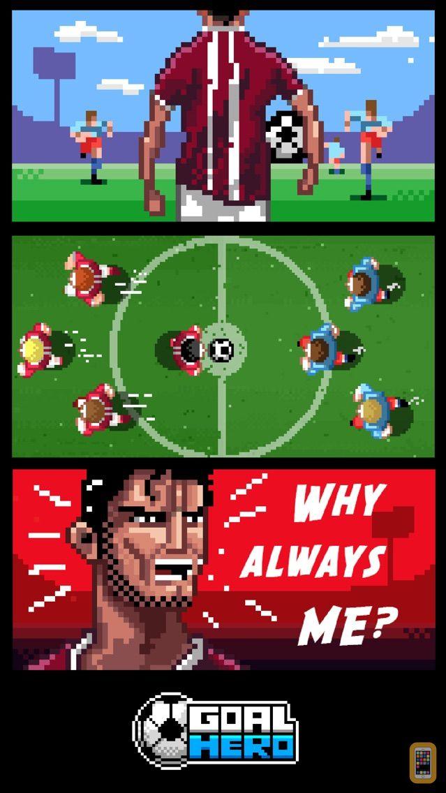 Screenshot - Goal Hero - Soccer SuperStar - Endless Goal Scoring Epic