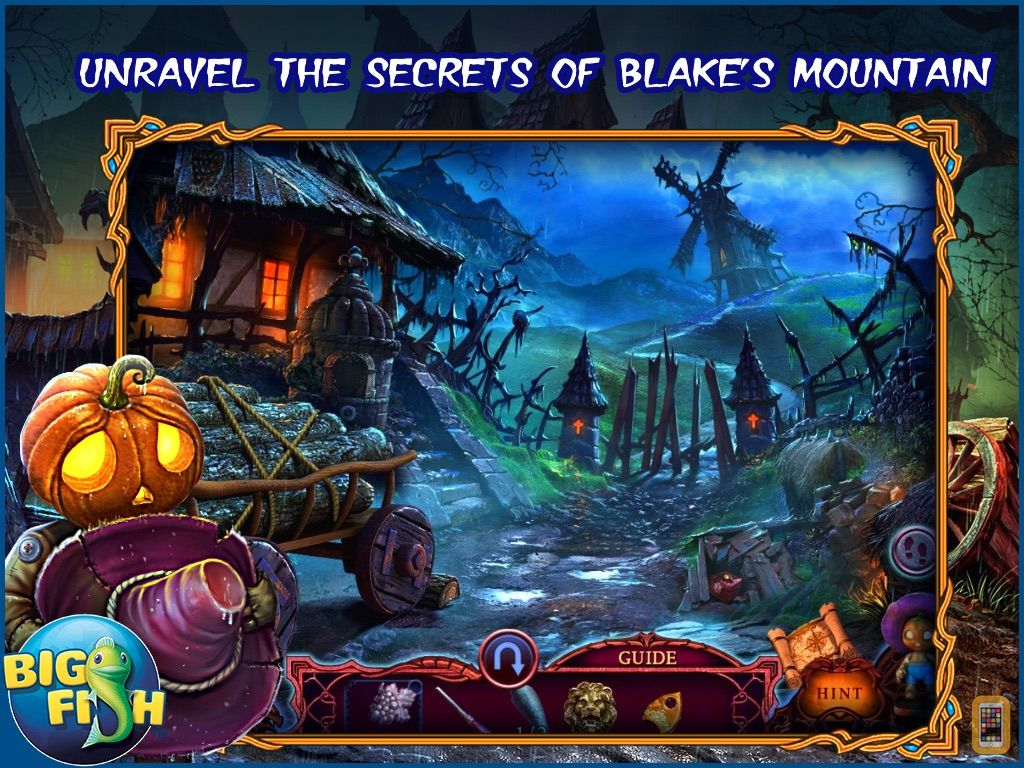 Screenshot - League of Light: Wicked Harvest HD - A Spooky Hidden Object Game (Full)