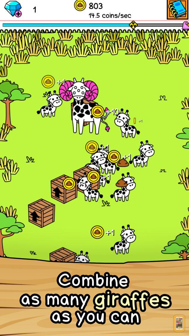 Screenshot - Giraffe Evolution | Clicker Game of the Mutant Giraffes