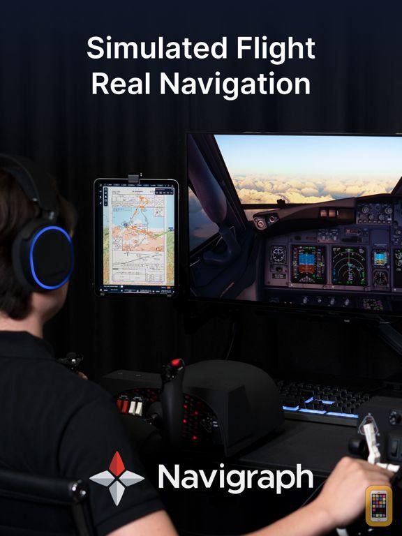 Navigraph Charts for iPad - App Info & Stats | iOSnoops
